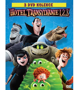 HOTEL TRANSYLVÁNIE 1.-3. Kolekce (3 DVD)
