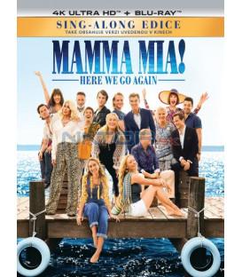 Mamma Mia 2: Here We Go Again! 2018 (4K Ultra HD) - UHD Blu-ray + Blu-ray