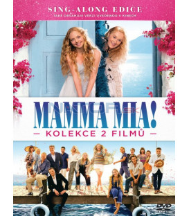 Mamma Mia! / Mamma Mia! Here We Go Again - kolekce - 2 DVD