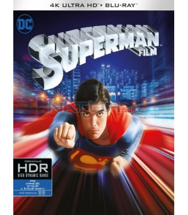 Superman (Superman: The Movie) (4K Ultra HD) - UHD Blu-ray + Blu-ray
