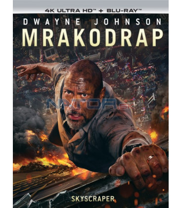 MRAKODRAP 2018 (Skyscraper) (4K Ultra HD) - UHD Blu-ray + Blu-ray (SK OBAL)