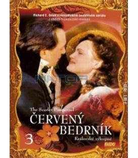 Červený bedrník - 3. díl (The Scarlet Pimpernel) DVD