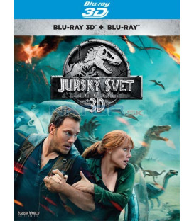 Jurský svet: Zánik ríše 2018 (Jurassic World: Fallen Kingdom) BLU-RAY (3D+2D) (SK OBAL)