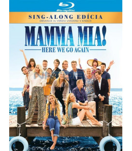 Mamma Mia 2: Here We Go Again! 2018 Blu-ray (SK OBAL)