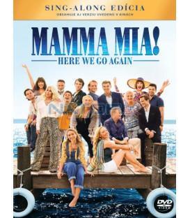Mamma Mia 2: Here We Go Again! 2018 DVD (SK OBAL)