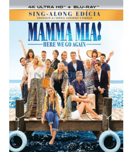 Mamma Mia 2: Here We Go Again! 2018 (4K Ultra HD) - UHD Blu-ray + Blu-ray (SK OBAL)