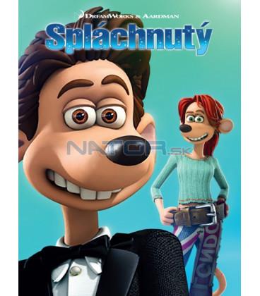 Spláchnutý (Flushed Away) Big Face DVD (SK OBAL)