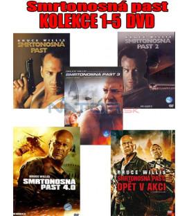 Smrtonosná past KOLEKCE 1-5 (Die Hard 1-5 ) DVD