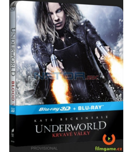 Underworld: Krvavé války (Underworld: Blood Wars) Blu-ray 3D + 2D STEELBOOK