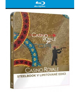 BOND - CASINO ROYALE - Blu-ray STEELBOOK