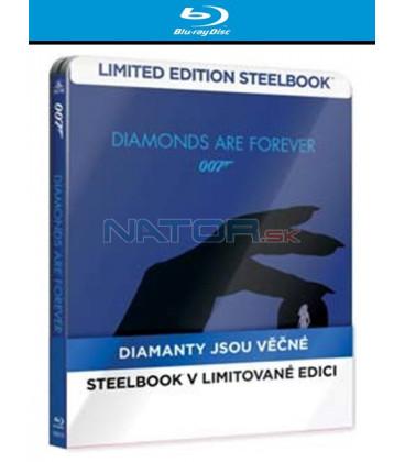 BOND - DIAMANTY JSOU VĚČNÉ (Diamonds Are Forever) - Blu-ray STEELBOOK