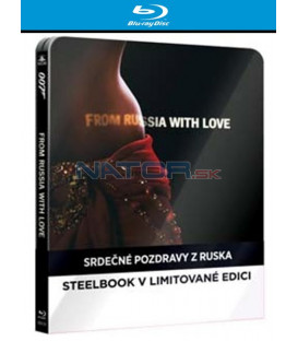 BOND - SRDEČNÉ POZDRAVY Z RUSKA (From Russia with Love) - Blu-ray STEELBOOK