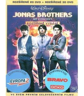 Jonas Brothers: 3D Koncert 2 DVD