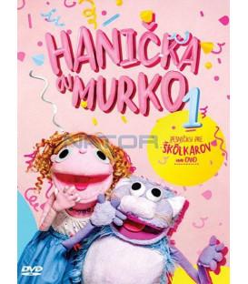 HANICKA A MURKO  1 / PESNICKY PRE SKOLKAROV NA DVD