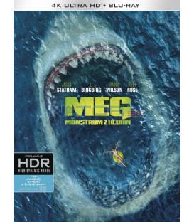 MEG: Monstrum z hlubin 2018 (The Meg) (4K Ultra HD) - UHD Blu-ray + Blu-ray