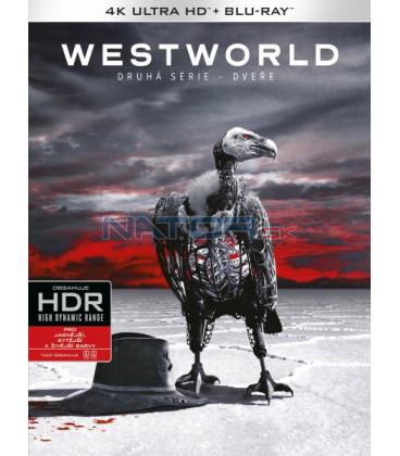 Westworld 2. série (Westworld Season 2 ) 3Blu-ray (4K Ultra HD) - UHD Blu-ray + Blu-ray