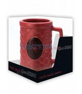 Hrnek Game of Thrones - Targaryen 3D 500 ml