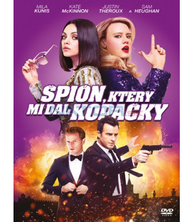 Špión, který mi dal kopačky 2018  (The Spy Who Dumped Me) DVD
