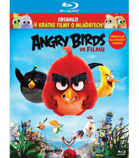 Angry Birds ve filmu 3D + 2D  BLU-RAY