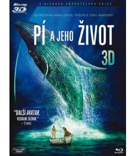 PÍ A JEHO ŽIVOT ( Life of Pi) - Blu-ray 3D, 2 disky, O-ring