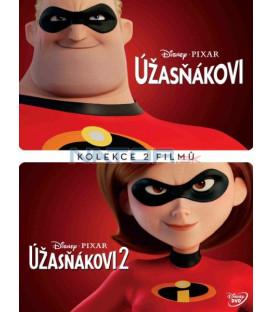 Rodinka Úžasných 1+2 / Úžasňákovi 1+2 - 2018 (Incredibles 1+ 2) 2XDVD