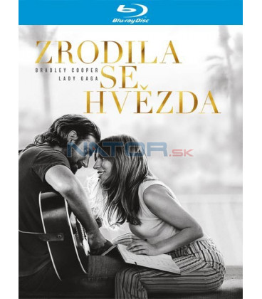 ZRODILA SE HVĚZDA 2018 (A Star Is Born) Blu-ray