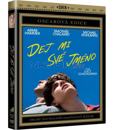Dej mi své jméno 2017 (Call Me by Your Name) DVD (Oscarová edice)