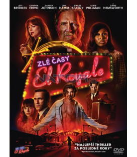 Zlé časy v El Royale 2018 (Bad Times at the El Royale) DVD (SK OBAL)
