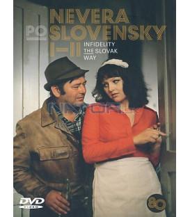 Nevera po slovensky I-II DVD