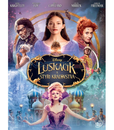 LOUSKÁČEK A ČTYŘI ŘÍŠE 2018 (The Nutcracker and the Four Realms) DVD