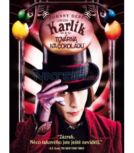 Karlík a továrna na čokoládu (Charlie and the Chocolate Factory) DVD