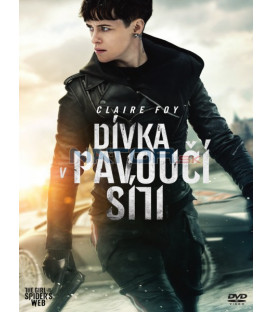 DÍVKA V PAVOUČÍ SÍTI 2018 (The Girl in the Spiders Web) DVD