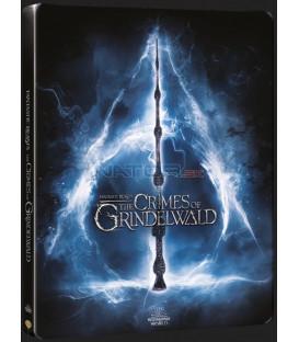 Fantastická zvířata: Grindelwaldovy zločiny 2018 (Fantastic Beasts: The Crimes of Grindelwald) Blu-ray 3D + 2D Steelbook