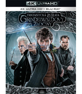 Fantastická zvířata: Grindelwaldovy zločiny 2018 (Fantastic Beasts: The Crimes of Grindelwald) (4K Ultra HD)  Blu-ray + Blu-ray