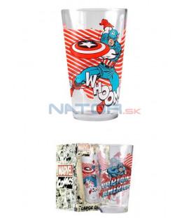 Sklenice Captain America 450 ml