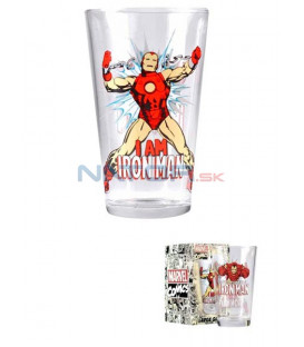 Sklenice Iron Man 450 ml