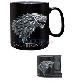 Hrnek Game of Thrones - Stark/Winter 460 ml