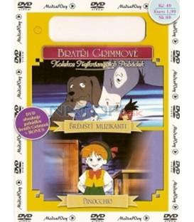 Brémští muzikanti + Pinocchio DVD