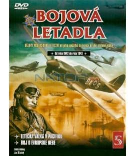 Bojová letadla 5 (La Guerra Aérea en el Pacífico / La Lucha por los Cielos de Europa) DVD