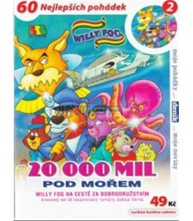 Willy Fog - 20 000 mil pod mořem - 2 (Willy Fog in 20.000 Leagues under the Sea) DVD