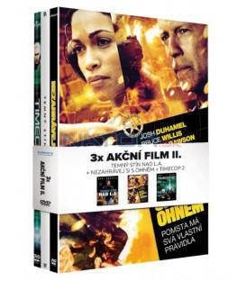 Akční film II. Kolekce 3DVD (Nezahrávej si s ohněm, Temný stín nad L.A., Timecop 2)
