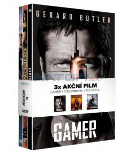 Akční filmy kolekce 3DVD (Gamer, Colombiana, Bez Dechu)   (Akční filmy kolekce)