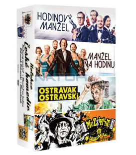 České komedie kolekce 4DVD