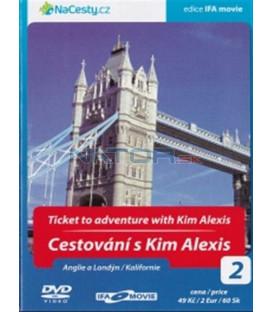 Cestování s Kim Alexis 2 - Anglie a Londýn / Kalifornie (Ticket to Adventute with Kim Alexis) DVD