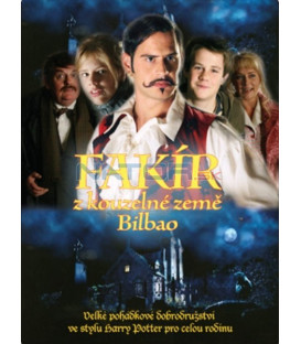 Fakír z kouzelné země Bilbao (Fakiren fra Bilbao) DVD