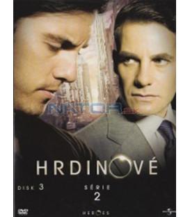Hrdinové II. - DVD 3 (Heroes) DVD