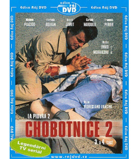 Chobotnice 2 - 3. a 4. část (La Piovra 2) DVD
