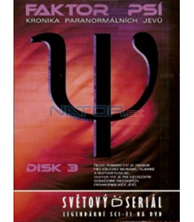 Faktor Psí - DVD 3 (Psi Factor: Chronicles of the Paranormal) DVD