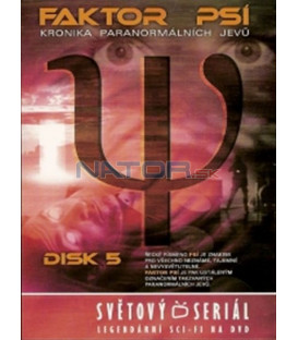Faktor Psí - DVD 5 (Psi Factor: Chronicles of the Paranormal) DVD