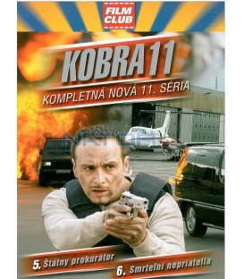 Kobra 11 - 11. série, díly 5 a 6 (Alarm für Cobra 11 - Die Autobahnpolizei: Der Staatsanwalt / Todfeinde) DVD